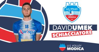 L'Avimecc Volley Modica annuncia l'arrivo di David Umek