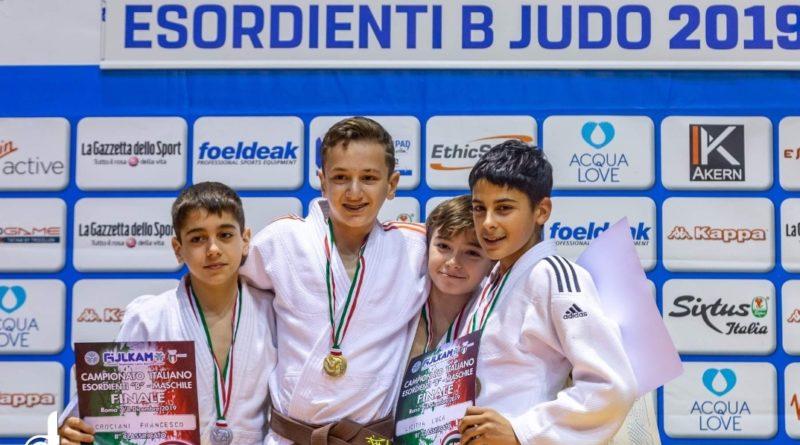 Il giovanissimo atleta ragusano Matteo Agosta è campione italiano judo esordienti 38 kg